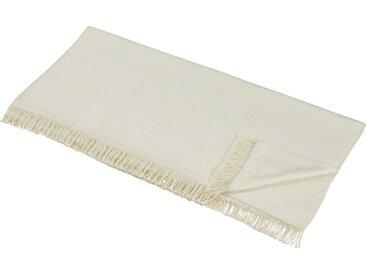 LAVIDA Sofaläufer  Uni - beige - 60% Baumwolle, 40% Polyacryl - Möbel-Kraft
