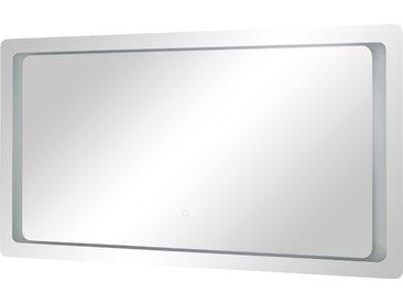 LED-Badspiegel - verspiegelt - 140 cm - 70 cm - 3 cm - Möbel-Kraft