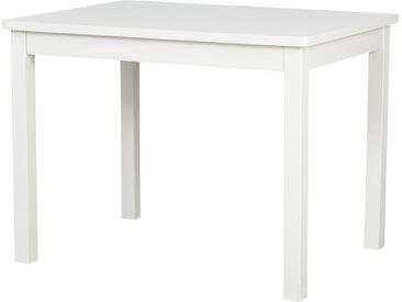 Kindertisch  Landhaus - weiß - 66 cm - 51 cm - 50 cm - Möbel-Kraft
