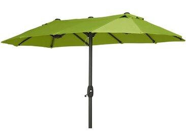 Sonnenschirm - grün - 170 cm - Möbel-Kraft