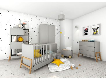 """Babyzimmer grau """"Marta"""" 4-teilig Holz"""