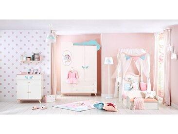 """Kinderzimmer Komplett Set """"Amalthea"""", Weiß, 5-teilig"""