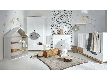 Babyzimmer Holz komplett 6-teilig Kinderzimmer Set Homey