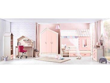 """Kinderzimmer Set Forester's Hut Pink"""" für Mädchen-5-teilig"""""""