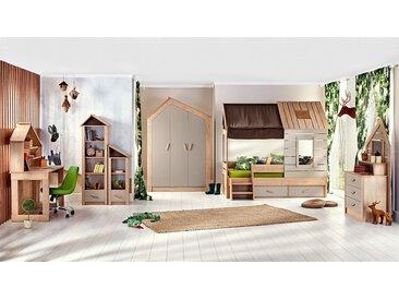 "Kinderzimmer komplett Set ""Forester's Hut"" - 6-teilig"