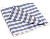 Handtuch »Geschirrtuch Fjord Streifen«, blau, blau