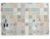 """Memoboard »Memoboard """"Mosaik""""«, Glas, Dekor, 60 x 40 cm"""