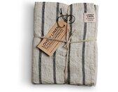 Handtuch »Geschirrtuch 45 x 70 cm«, schwarz, stripe black