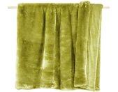 Wohndecke » Decke SHERIDAN Felldecke Grün«