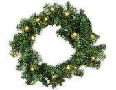 Kunstgirlande »Weihnachtsgirlande 5m Tannengirlande Girlande LED Lichterkette künstliche Außen innen«