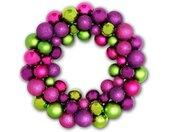 Adventskranz »Gift-Company Shanghai Wand-Kranz mit pink-lila-grü«, Wandkranz - einseitig, lila