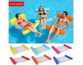Luftmatratze »Wasserhängematte Luftmatratze aufblasbare Schwimmende Wasser Bett Strandmatte Floating Lounge Stuhl«, rot, rot