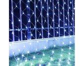 LED-Lichternetz »LED Lichternetz Lichtervorhang Lichterkette 8 Modi Wasserdicht Deko Leuchte Innen und Außen Weihnachten Hochzeit mit Stecker Weihnachtsdekorationlichter«