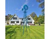 """Windrad »8FT Wetterfeste Yard Garten Windmühle,Witterungsbeständig,(26 x 26 x 96)""""«, blau, Blau"""