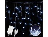 LED-Lichterkette »LED Eisregen Lichterkette«, 8 Modi Lichtervorhang mit Speicherfunktion,Strombetrieben, IP44 wasserdicht für Weihnachten, Party