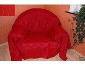 Überwurf »Überwurf Sofaüberwurf Tagesdecke, rot, 275 x 275cm, Textil schmutzabweisend, «