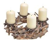 Adventskranz »Rustikaler Adventskranz Kerzenhalter«
