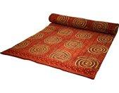 Tagesdecke »Blockdruck Tagesdecke, Bett & Sofaüberwurf,..«, rot