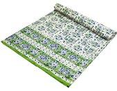 Tagesdecke »Blockdruck Tagesdecke, Bett & Sofaüberwurf,..«, weiß