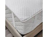 Matratzenschoner »wasserdicht«, (1-tlg), weich atmungsaktives Schutz überwurf elastisch und rutschfest 90x200cm für Einzelbetten