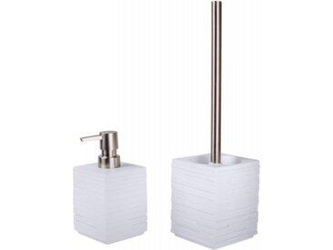 Badezimmer Set Calero White