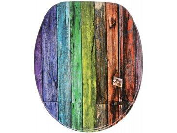 WC-Sitz mit Absenkautomatik Rainbow