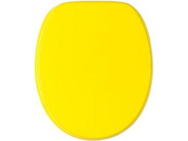 WC-Sitz mit Absenkautomatik Gelb