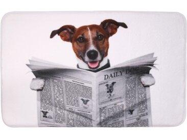 Badteppich Newspaper 70 x 110 cm