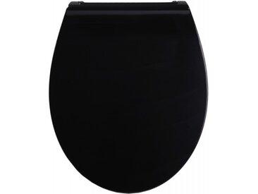 WC-Sitz mit Absenkautomatik Flat Schwarz