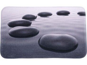 Badteppich Black Stones 70 x 110 cm