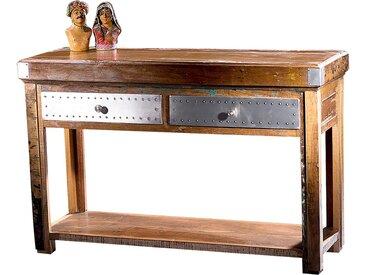 Konsolentisch Finja, Holz Recycled 100%, ca. 115x76x30 cm