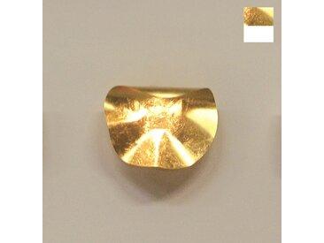 Knikerboker Non So! P/PL design LED Wandleuchte blattgold weiss 40cm