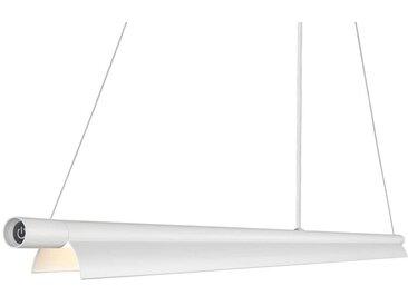 dftp designer Hängelampe SpaceB weiß 120cm LED 983lm inkl. Dimmer