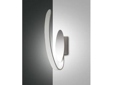 LED Spiegelleuchte weiß Fabas Luce Levanto 630lm 3000K