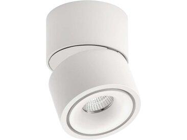 Lumexx Mini LED Aufbauleuchte weiß/weiß 7W, 550lm, 2700k