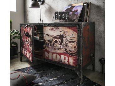 """Sideboard 120x74cm """"Style your Life"""" recyceltes Metall"""