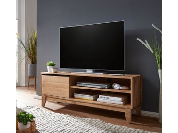 TV Element 136cm 'Pharao' Wildeiche & schwarz