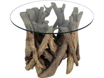 """Beistelltisch 60cm """"Java"""" recyceltes Holz"""