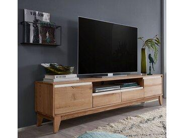 TV Element 200cm 'Pharao' Wildeiche & weiß