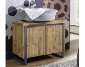 Waschbeckenunterschrank 'Genua' Akazie gebürstet