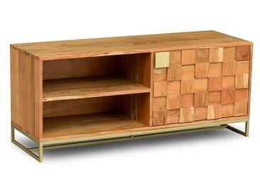 TV Element 118x50cm 'Assuan' Akazie lackiert