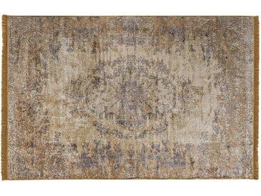 """die Faktorei Design-Teppich van Dyck"""" gelb 200x300 cm"""""""