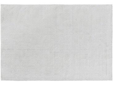 """die Faktorei Design-Teppich Labyrinth"""" altweiß 160x230 cm"""""""