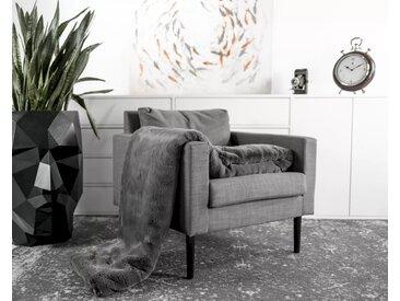 Star Home »Koalabär« Webpelz Wohndecke 150 x 200 cm / grau