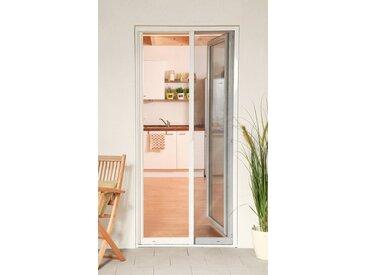 hecht international HECHT Insektenschutz-Tür »SMART«, weiß/anthrazit, BxH: 125x220 cm, grau, Türen, 125 cm x 220 cm, anthrazit