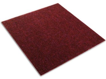 casa pura Teppichfliese »Merci«, Rechteckig, Höhe 6 mm, selbstklebend, rot, Rot