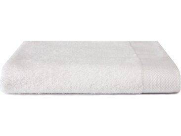 Seahorse Badetuch »Pure« (1-St), mit Strukturbordüre, weiß, weiß