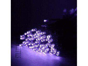 TOPMELON Lichterkette »LED-Lichterkette«, 100-flammig, Batterienbetrieben, lila, 100 St. - 100 St., Lila