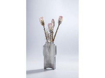KARE Dekovase »Vase Las Vegas Grau«