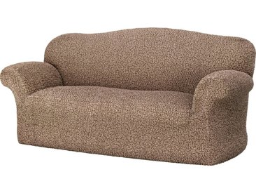 GAICO Sofahusse »Venere«, monoelastische Microfaser Qualität, braun, 3-Sitzer, braun